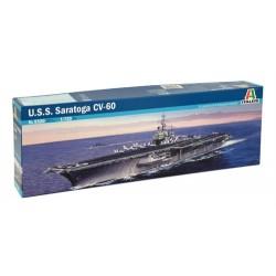 USS Saratoga CV-60 1:720 - ITALERI - 5520 - Okręt