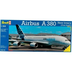 AIRBUS A-380 FF 1:144 - REVELL - 04218 - Samolot
