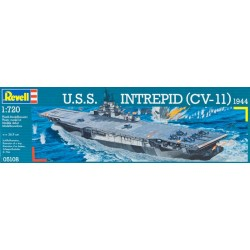 REVELL 05108 USS INTREPID 1:720
