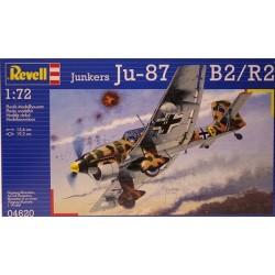 JUNKERS 87 1:72 - REVELL - 04620 - Samolot