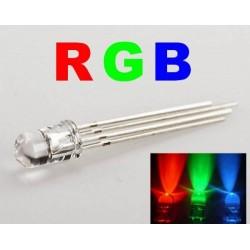 Dioda LED RGB 5mm - wspólna Anoda