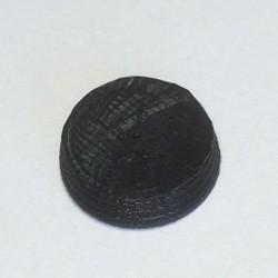 Osłonka - do mocowania silnika - czarna - 2szt. - kopułka