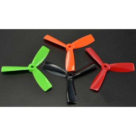 Śmigła Bullnose 3-blades 5x4,5 - komplet 4szt  - czarne