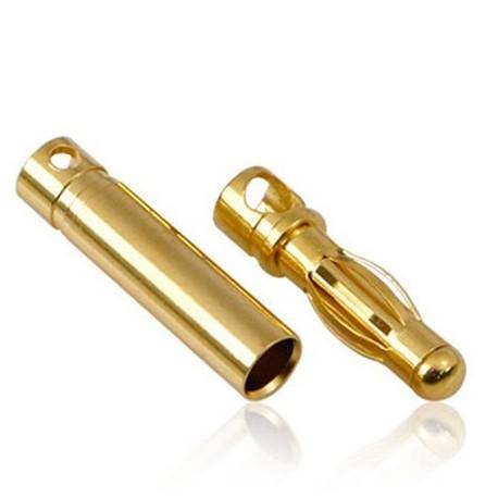 Para konektorów - Gold 4.0mm