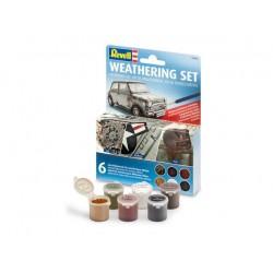 Weathering Set - zestaw 6 pigmentów - 39066