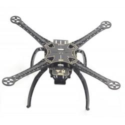 Rama Quadcopter S500-PCB black - z podwoziem i zestawem montażowym