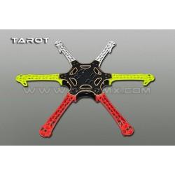 Rama TAROT FY-550 V2 - Hexa - z polami lutowniczymi - TAROT TL2778-02