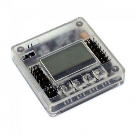 Kontroler lotu KK2.1 z LCD - prosty kontroler - z obudową