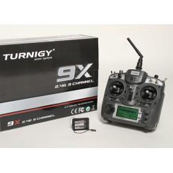 Turnigy 9x 2,4Ghz - Mode 2 - z odbiornikiem