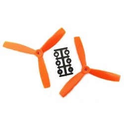 Śmigła HQProp TP 5x4,5 3-blades CCW - orange - śmigło 5045 do dronów - 2 szt