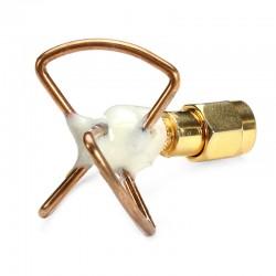 Antena koniczynka - TX nadawcza - krótka RP-SMA kątkowa