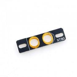 Mocowanie wtyku XT90 - płytka mocująca