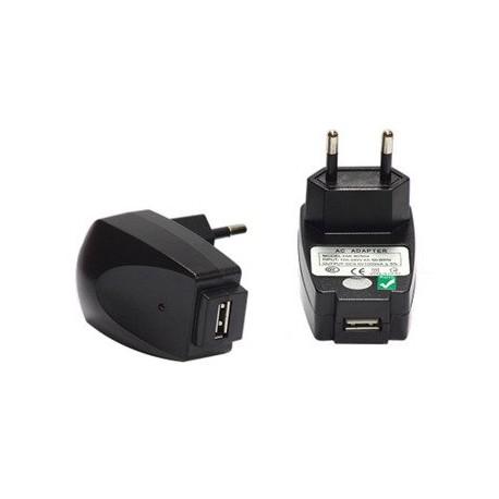 Zasilacz sieciowy USB 5V - 1000mA - do ładowarek akumulatorowych