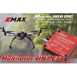 ESC EMAX SimonK 4IN1 4x25A - 2-4S - 400Hz - fast PWM do quadcopterów