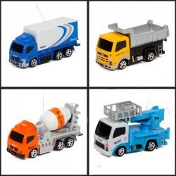 Mini samochód 1:63 - ciężarówki i maszyny