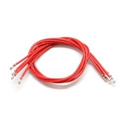 Wtyk DF13 - przewód 150mm czerwony zakończony wtykami DF13 - 1 szt