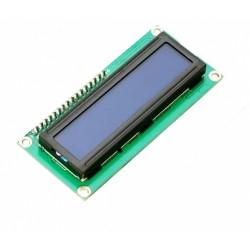 Wyświetlacz LCD 2x16 blue + Konwerter I2C HD44780
