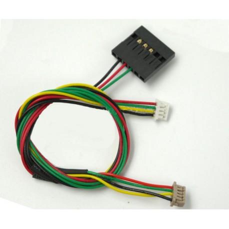 Kabel (DF13) Y-OSD /Telemetria - 4pin - do APM 2.5/ 2.6 / 3DR