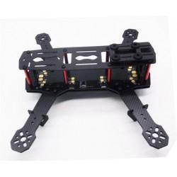 Rama Carbon QAV 250-PDB - dron z płytą dystrybucji PDB + LED + BEC 5V i 12V - ZMR-250 PCB