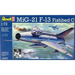 MiG-21 F-13 Fishbed C - Revell - 03967 - Samolot