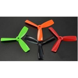 Śmigła Bullnose 3-blades 5x4,5 - komplet 4szt - pomarańczowe