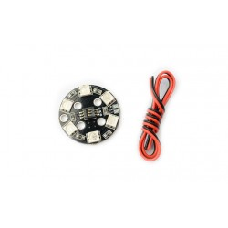 MATEK RGB LED CIRCLE X6-12V - LED 5050 - oświetlenie do dronów - sam ustalasz dowolny kolor