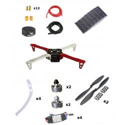 Dron F450 zestaw ARF - rama Tarot/ ESC 30A/ silniki 2212 /śmigła 10x4,5 i akcesoria