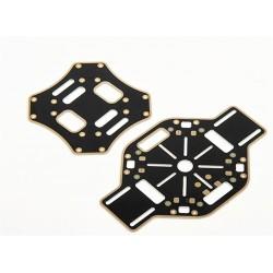Central plate do F450 z PCB - laminat z polami lutowniczymi - płyta centralna