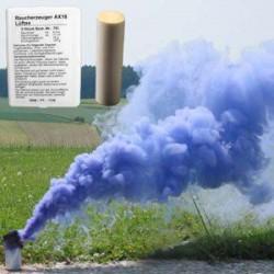 Dym - świeca dymna AX-18 - 4 minuty - niebieska
