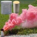 Dym - świeca dymna duża AX-60 - 4 minuty - czerwona - 1 szt