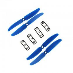 Śmigła LJI 5x3 CW/CCW - niebieskie - 2 szt - para śmigieł 5030