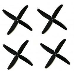 Śmigła DAL QJ5045 - black - Quad-Blade - 5x4,5x4 - 2xCW/2xCCW - DALPROP 4 szt
