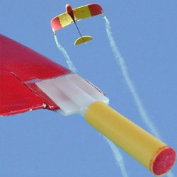 Mocowanie świecy dymnej AX-18 do skrzydeł