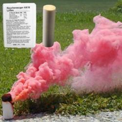 Świeca dymna AX-18 - 4 minuty - czerwona