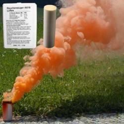 Świeca dymna AX-18 - 4 minuty - pomarańczowa