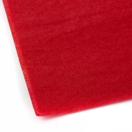 Papier pokryciowy czerwony 508x762 mm - 1szt - DUMAS 59-185D