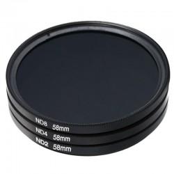 Filtr ND8 - 52mm - filtr szary