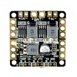 Płytka zasilająca PDB 2xBEC 12V i 5V i LC Filter - do CC3D, NAZE32 itp