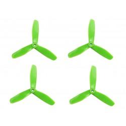 Śmigła DAL V2 T5045 - green - Tri-blade - 5x4,5x3 - 2xCW/2xCCW - DALPROP 4 szt