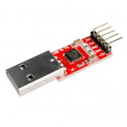 Konwerter USB - RS232/TTL/UART - wyjście 3,3V/5V - CP2102 - Arduino