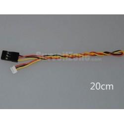 Adapter SH 4pin 1.25mm - JR 2.54mm - 300mm
