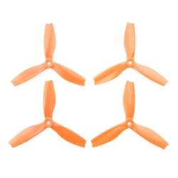 Śmigła HQProp DPS 5x4x3 3-blades CW/CCW - orange - 4 szt