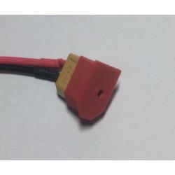 Osłonka na wtyk XT60 - czerwona V2 - Zabezpieczenie złącza