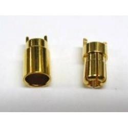 Wtyki GOLD - 5mm - 1 para - konektory