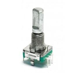 Encoder impulsator EC11 - 20-impulsów z przyciskiem - rotary enkoder