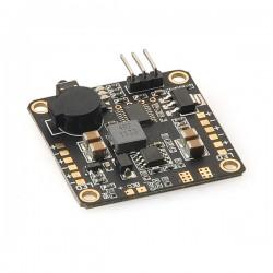 Płytka zasilająca PDB V2 5-in-1 HUB/ 2xBEC / LED Control / Low Voltage Alarm/ Buzzer - Matek HUB5in1