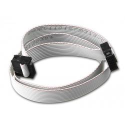 Taśma IDC IDC10 KANDA do ISP AVR - USBasp FC10P - 20cm