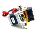 Ekstruder metalowy kompletny MK8 1,75mm 0,4mm dysza - Drukarka 3D Reprap