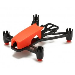 Rama do mini drona FPV - Kingkong Q100 czerwona - 100mm 11,6g