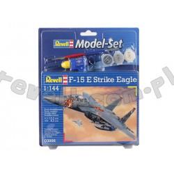 F-15E Strike Eagle - Revell - 63996 - Zestaw z klejem i farbami